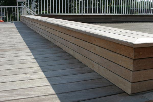 Ipe Bois Exotique Entretien : placement de terrasses en bois, Terrasses en bois: La terrasse en bois