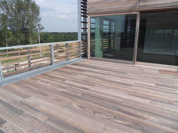Pose et placement de terrasses en bois, Terrasses en bois La terrasse